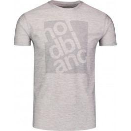 Pánské triko Nordblanc Pert Velikost: M / Barva: šedá