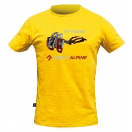 Pánské triko Direct Alpine Bosco 1.0 - Friend DA Velikost: XL / Barva: žlutá