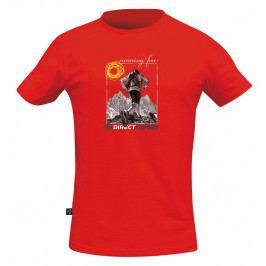 Pánské triko Direct Alpine Bosco 1.0 - Running free Velikost: L / Barva: červená