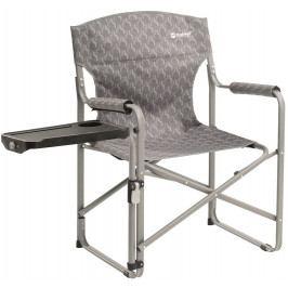 Křeslo Outwell Chino Hills se stolečkem Barva: stříbrná