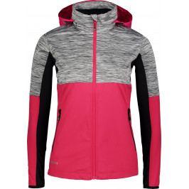 Dámská běžecká bunda Nordblanc Staunch Velikost: XL (42) / Barva: růžová
