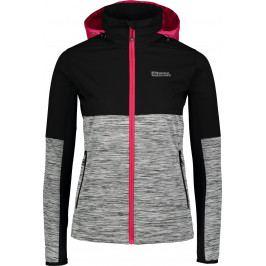 Dámská běžecká bunda Nordblanc Staunch Velikost: XL (42) / Barva: šedá
