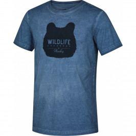 Pánské triko Husky Tendy M Velikost: M / Barva: modrá