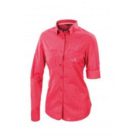 Dámská košile Ferrino Perinet Long Sleeve Woman Velikost: M / Barva: červená