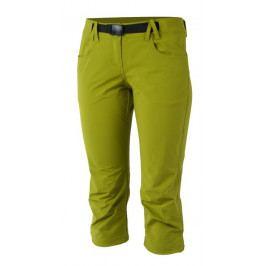 Dámské 3/4 kalhoty Northfinder Claudia Velikost: L / Barva: zelená