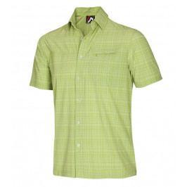 Pánská košile Northfinder Callan Velikost: L / Barva: zelená
