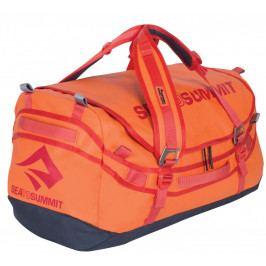 Cestovní taška Sea to Summit Duffle 90 L Barva: oranžová