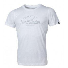 Pánské triko Northfinder Danny Velikost: XXL / Barva: bílá