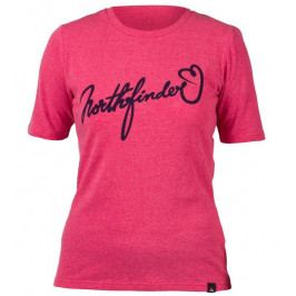 Dámské triko Northfinder Talia Velikost: XL / Barva: růžová