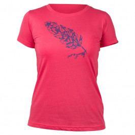 Dámské triko Northfinder Madilyn Velikost: XL / Barva: růžová