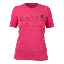 Dámské triko Northfinder Teresa Velikost: XL / Barva: růžová