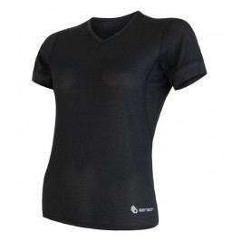 Dámské funkční triko Sensor Coolmax Air V-neck Velikost: M / Barva: černá