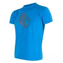 Pánské triko Sensor Coolmax Fresh PT Hand Velikost: L / Barva: modrá
