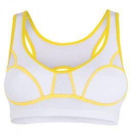 Podprsenka Sensor Lissa bílá/žlutá Velikost podprsenky: 85C / Barva: bílá / žlutá