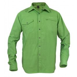 Pánská košile Warmpeace Moody Velikost: M / Barva: zelená