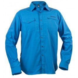 Pánská košile Warmpeace Moody Velikost: XL / Barva: modrá