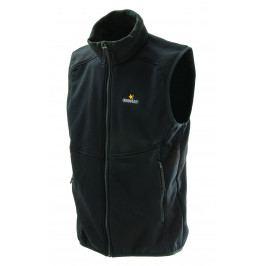 Pánská vesta Warmpeace Outward Powerstretch Velikost: L / Barva: černá