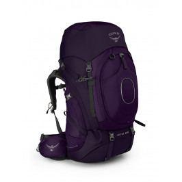Dámský batoh Osprey Xena 85 Velikost zad batohu: S / Barva: fialová