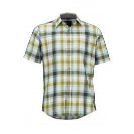 Pánská košile Marmot Notus SS Velikost: L / Barva: zelená