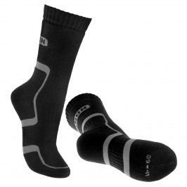 Ponožky Bennon Trek Sock Velikost ponožek: 36-38 / Barva: černá/šedá