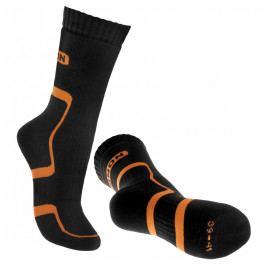 Ponožky Bennon Trek Sock Velikost ponožek: 39-41 / Barva: černá/oranžová