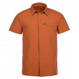 Pánská košile Kilpi Bombay M (2018) Velikost: M / Barva: oranžová