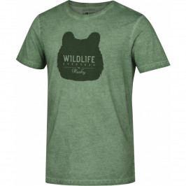 Pánské triko Husky Tendy M Velikost: M / Barva: zelená