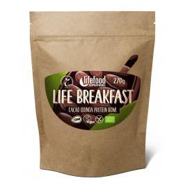 Kaše Lifefood Life Breakfast Bio Raw kakaová s quinoou
