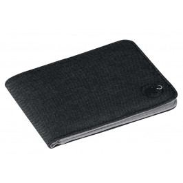 Peněženka Mammut Flap Wallet Mélange Barva: černá
