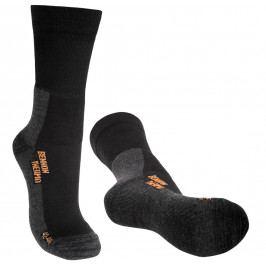 Ponožky Bennon Trek Sock Merino Velikost ponožek: 48-49 / Barva: černá