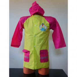 Pláštěnka 2You pro děti Princezna 808 Dětská velikost: 6-7 let / Barva: žlutá/růžová