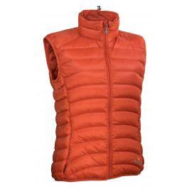 Dámská vesta Warmpeace Swan Lady Velikost: L / Barva: oranžová