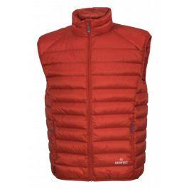 Pánská vesta Warmpeace Drake Velikost: L / Barva: oranžová