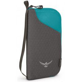 Peněženka Osprey Document Zip Wallet Barva: šedá/modrá