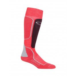 Dámské podkolenky Icebreaker Women`s Ski+ Medium OTC (2018) Velikost ponožek: 41-43 / Barva: růžová