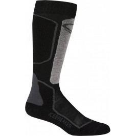 Pánské podkolenky Icebreaker Mens Ski+ Light OTC (2018) Velikost ponožek: 44,5-46,5 / Barva: černá