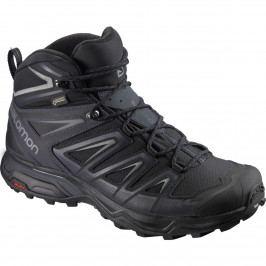 Pánská obuv Salomon X Ultra 3 Wide Mid GTX® Velikost bot (EU): 42 (UK 8) / Barva: černá