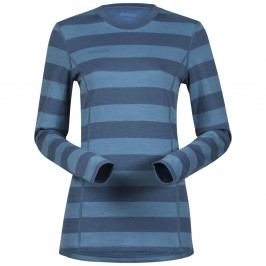 Bergans Akeleie Lady Shirt SteelBlue/Glacier Striped L