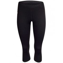 Bergans Dámské merino leginy Fjellrapp Lady 3/4 Tights Black L