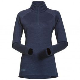 Bergans Snøull Lady Half Zip DustyBlue/Navy/DustyLtBlue L