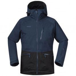 Bergans pánská bunda Myrkdalen Jkt Dk SteelBlue/SolidCharcoal L