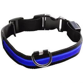 Eyenimal svítící obojek pro psy - modrý