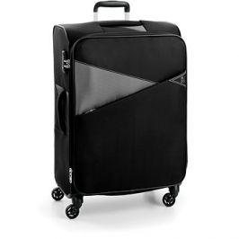 Roncato kufr THUNDER 77 cm, 4 kolečka, EXP., černá