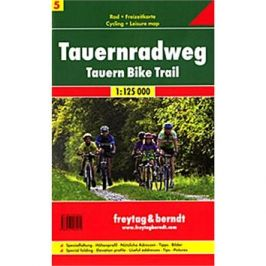 Cyklomapa Tauern Radweg 1:125 000