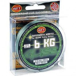 WFT - Šňůra GLISS 6KG 0,12mm 300m Zelená