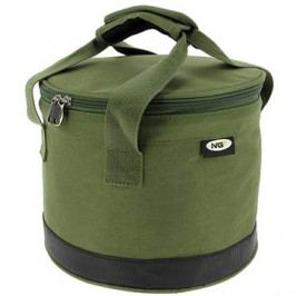 NGT Bait Bin with Handles and Cover Green