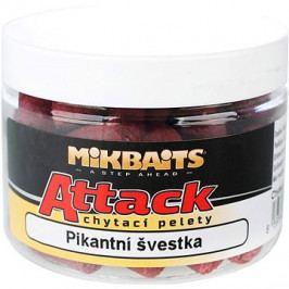 Mikbaits Attack chytací pelety Pikantní švestka 150ml