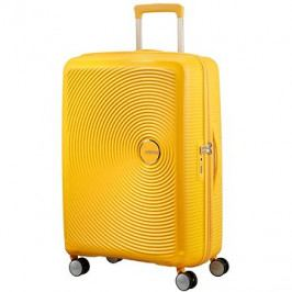 American Tourister Soundbox Spinner 67 Exp Golden Yellow